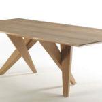 confu natural oak table