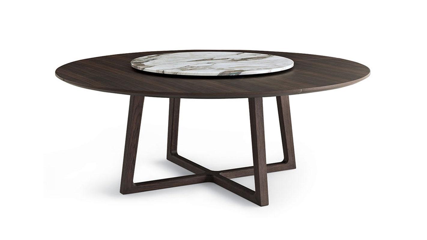 cross oak table