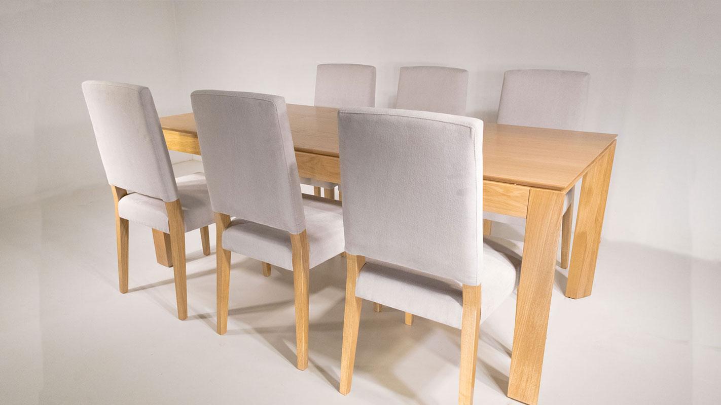 gante extendable oak table