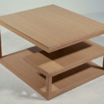 meandro oak coffee table