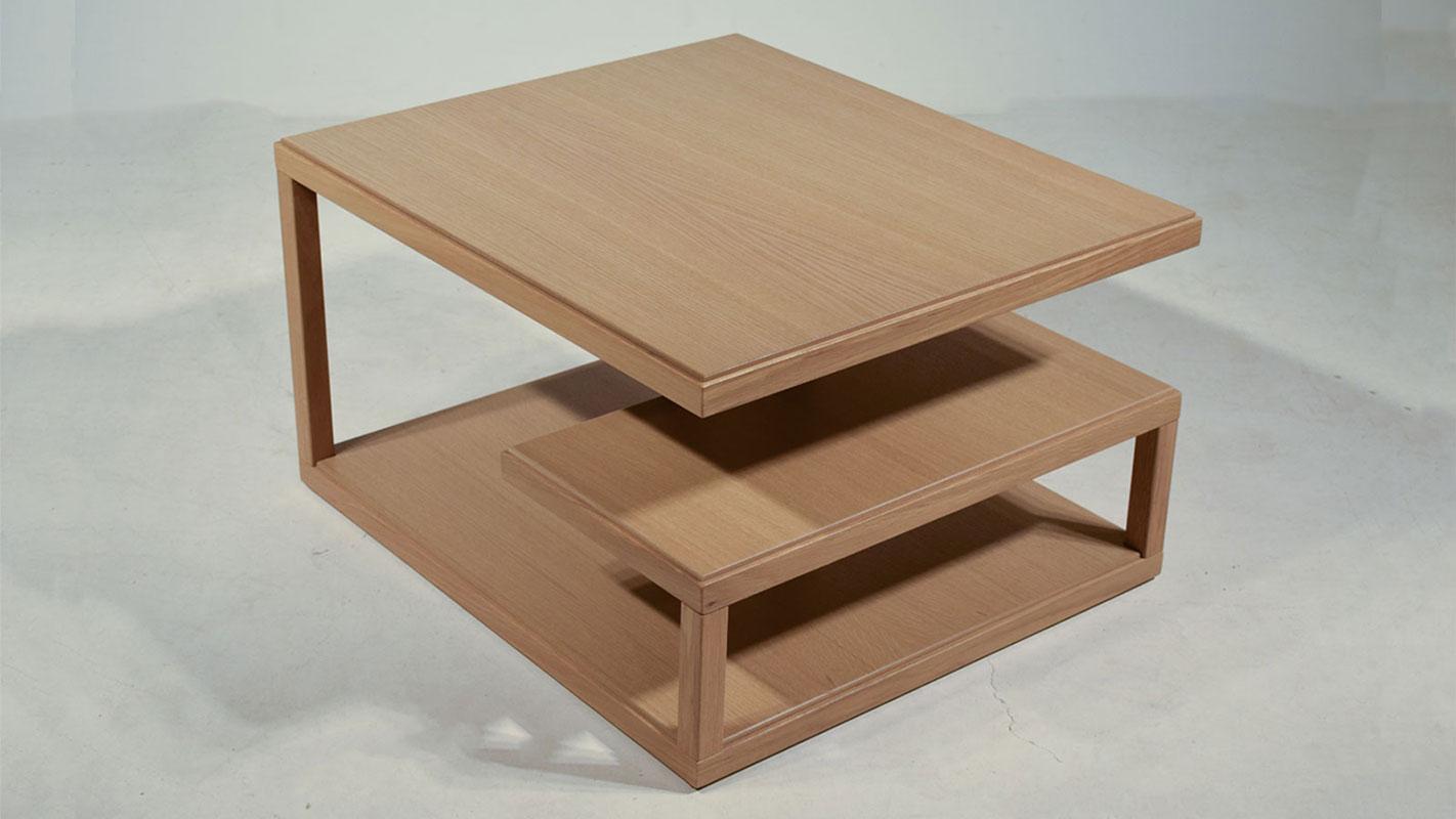 meandro oak coffee table
