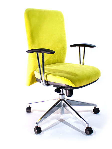 body upholstered office chair