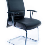sirio upholstered visitor chair